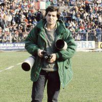 1985 Padova, Finale Campionato Italiano Rugby con Canon F1