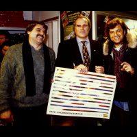 1996 Bologna, Motor Show , Presentazione calendario Cromodinamiche per OMP