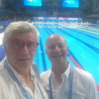 2017 Mondiali FINA Budapest con Christian Zicche ovvero Swimbiz.it siamo sopravvissuti al lavoro e alla stanchezza