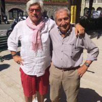 2017 Con Gianni Gelmi grande fotogiornalista a Moneglia