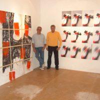 2005 Albisola Marina, Galleria Studio Fontana, Inaugurazione mostra Assonanze con Luciano Fiannacca