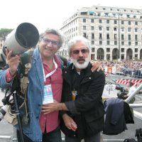 2008 Genova, Visita di Papa Benedetto XVi con Vincenzo Pinto