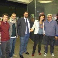 """Con Andrea Barchiesi di TADAO Studio durante l'inaugurazione della mostra """"Fotogrammi di una ricerca"""""""