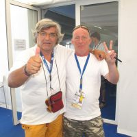 2009 Roma Swimming World Championship con Laszlo Balogh