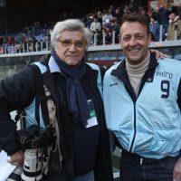 2014 Genova con Buzzi, fotografo del Milan