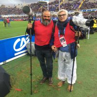 2016 con Alessandro Bianchi Reuters a Firenze per il rugby