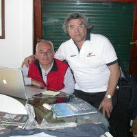 2009 S. Margherita con Carlo Borlenghi durante le regate Pirelli