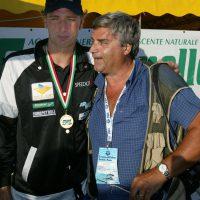 2003 Riccione Campionati Italiani di Nuoto con Massimiliano Rosolino