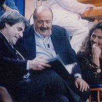 1994 ospite al Maurizio Costanzo Show con Barbara D'Urso
