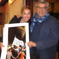 2012 con la martellista Silvia Salis