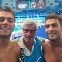 2017 Mondiali FINA Budapest tra Gregorio Paltrinieri e Gabriele Detti