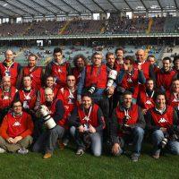 2014 Foto di gruppo durante incontro testmatch di Rugby